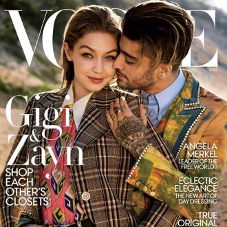 Gigi Hadid And Zayn Malik Wear Each Other's Clothes