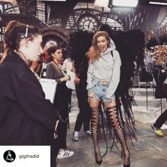 Gigi Hadid Gets 'Choked Up' Thinking Of The Victoria's Secret Show