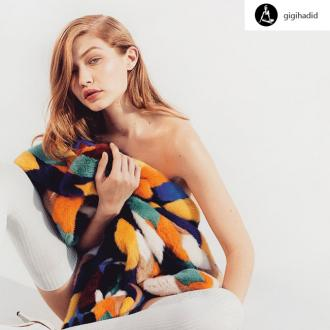 Gigi Hadid is the new face of Missoni