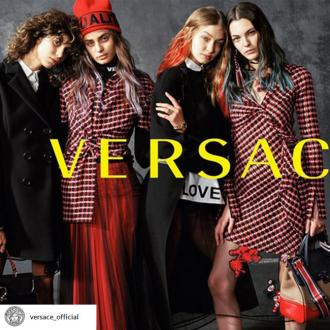 Gigi Hadid stars in Versace's A/W 2017 campaign