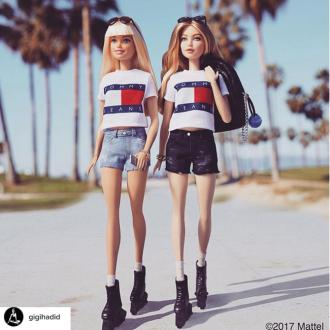 Gigi Hadid 'can't believe' she has her own Barbie
