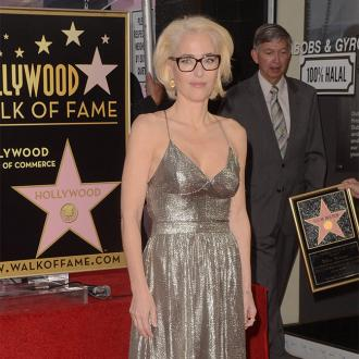 Gillian Anderson receives star on Hollywood Walk Of Fame