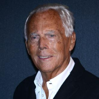 Giorgio Armani  discusses 'intense' career