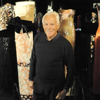 Giorgio Armani stages an audience-less show at Milan Fashion Week