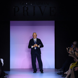 Giorgio Armani to host runway show without audience