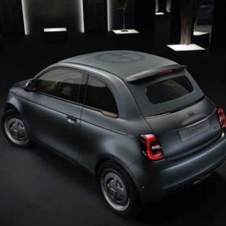 Giorgio Armani designs a car for Fiat