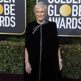 Glenn Close's tearful Golden Globes speech