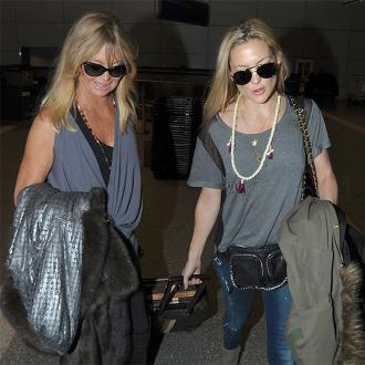 Goldie Hawn rules out movie with Kate Hudson
