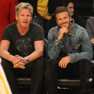 Gordon Ramsay Grateful For Beckhams' Support
