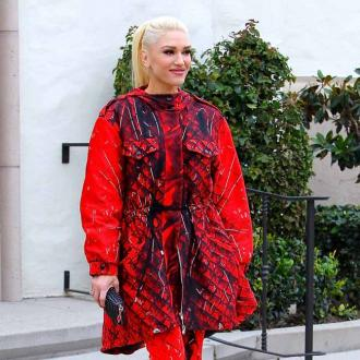 Gwen Stefani takes extra care with her hair