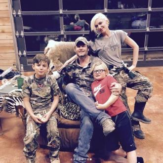 Gwen Stefani wishes Blake Shelton a Happy Father's Day