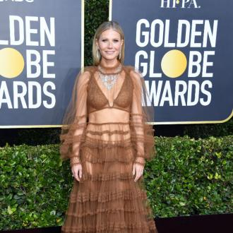 Gwyneth Paltrow unwinds with whiskey