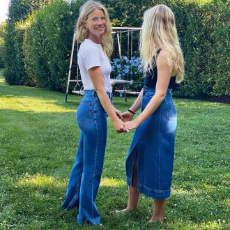 Gwyneth Paltrow's daughter joins her for new fashion collection