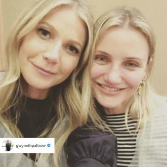 Gwyneth Paltrow wishes Cameron Diaz a happy 45th