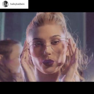 Hailey Baldwin Is The New Face Of Bolon Eyewear