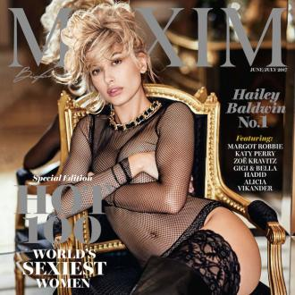 Hailey Baldwin Tops Maxim's Hot 100 List