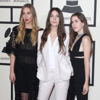 Haim have always been 'big fans' of Calvin Harris