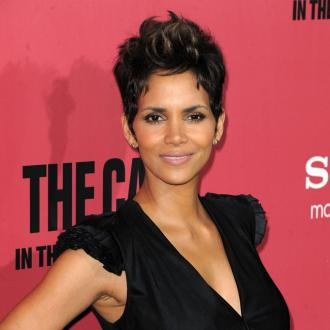 Halle Berry Sprays Perfume Between Her Legs