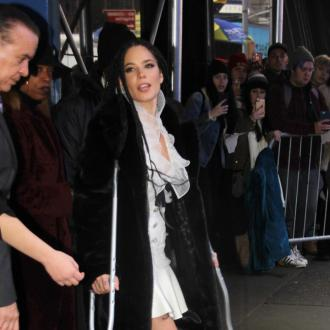 Halsey has broken foot