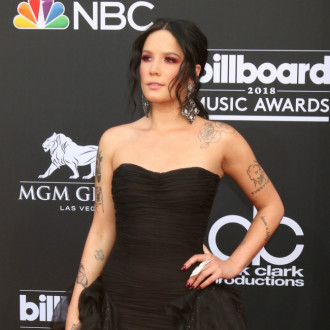 Halsey reveals applying make-up helped her deal with her 'really ugly' breakup