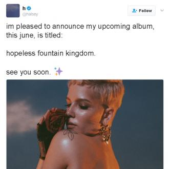 Halsey's new album will be Hopeless Fountain Kingdom