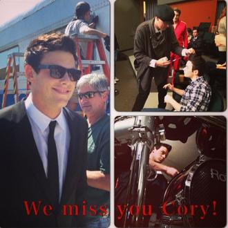 Harry Shum Jr's Photo Tribute To Cory Monteith