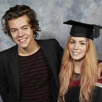 Harry Styles Attends Sister's Graduation