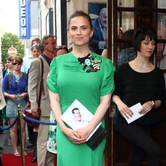 Hayley Atwell felt insecure in her 20s