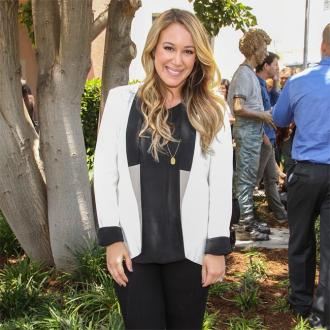 Haylie Duff is excited and terrified to give birth