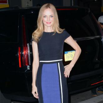 Heather Graham meditates 'twice a day'