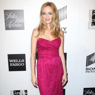 Heather Graham likes to treat herself to massages