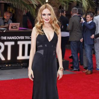 Heather Graham adds glamour to Hangover premiere