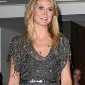 Heidi Klum Planning Fishy Holiday