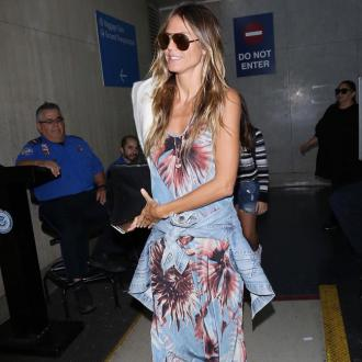 Heidi Klum always thinking about new designs