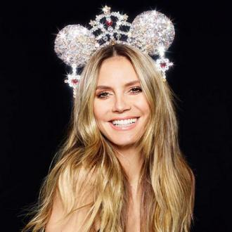 Heidi Klum Excited To Create Mickey Mouse Ears