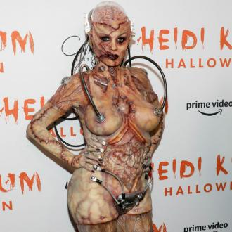 Heidi Klum's Halloween transformation took 12 hours