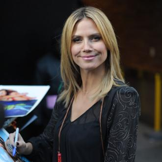 Heidi Klum Unsure About Oscars Look
