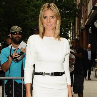 Heidi Klum Releases T-shirts Designed By Son