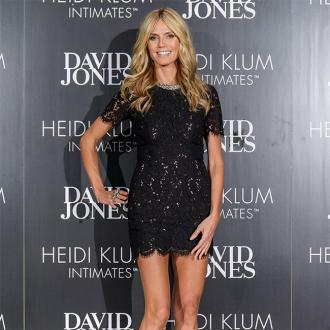 Heidi Klum Prefers Low Plunging Bras