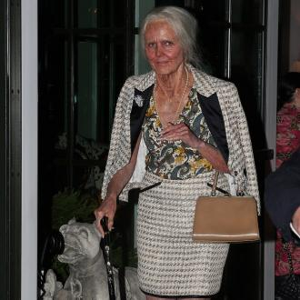 Heidi Klum Dressed As Old Woman For Halloween