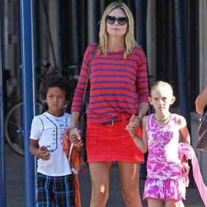 Heidi Klum's Kids Must Look 'Cool'