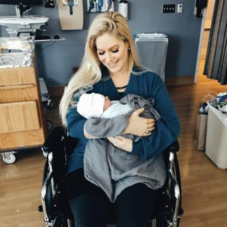 Heidi Montag emotional over son's first birthday