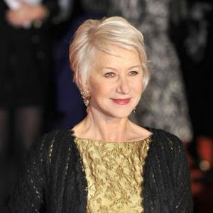 Helen Mirren's Handprints Immortalised