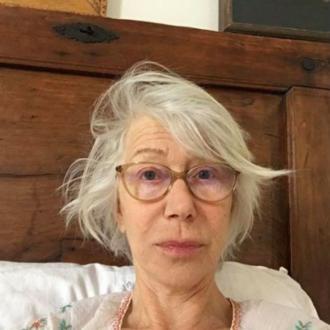 Helen Mirren posts makeup free photo to raise money