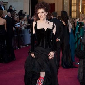 Helena Bonham Carter Had Handkerchief Speech