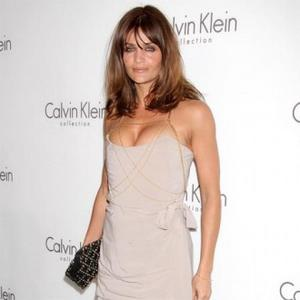 Helena Christensen Stays In Shape With Boxing