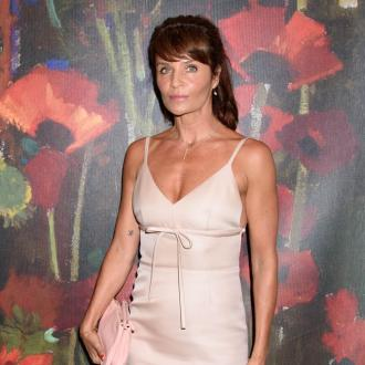 Helena Christensen 'Touched' By Runway Reaction