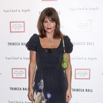 Helena Christensen Designs T-shirt For Oxfam