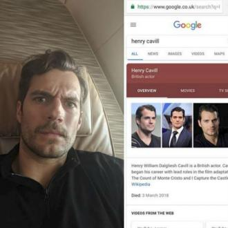 Henry Cavill's super shock at death story