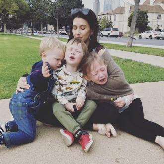 Hilaria Baldwin's kids had breakdown over hand holding
